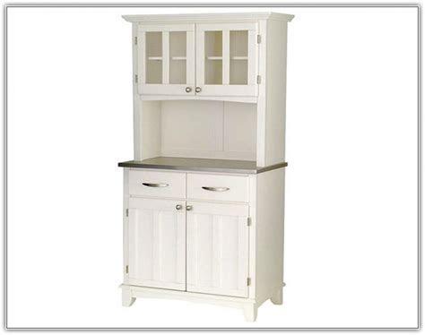 White Kitchen Hutch Cabinet ~ Hamipara.com