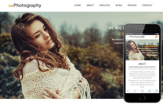 We Photography a Photographer Portfolio Flat Bootstrap Responsive Web Template by w3layouts