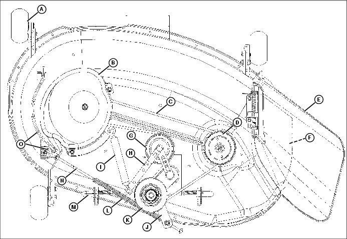 33 John Deere Lt133 Belt Diagram