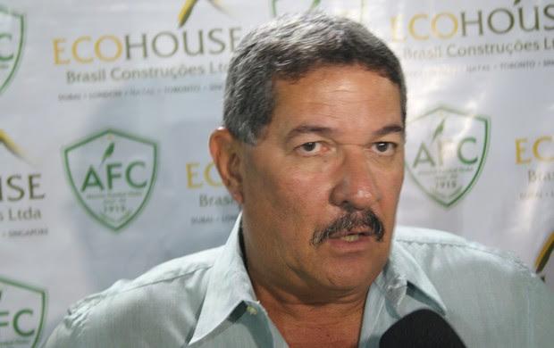 Pedrinho Albuquerque, técnico do Alecrim (Foto: Augusto Gomes)