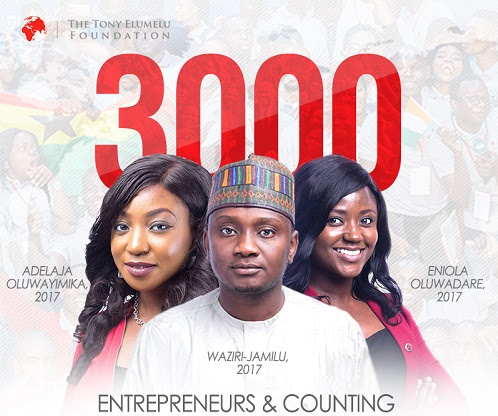 Apply for Tony Elumelu Foundation (TEF), 2018 Entrepreneurship Programme - 4th Cycle