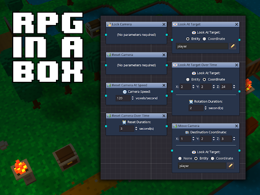 Camera Scripting, Voxel Tools, and More! news - RPG in a Box