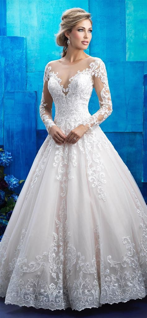 Allure Bridals style 9411. This regally romantic long