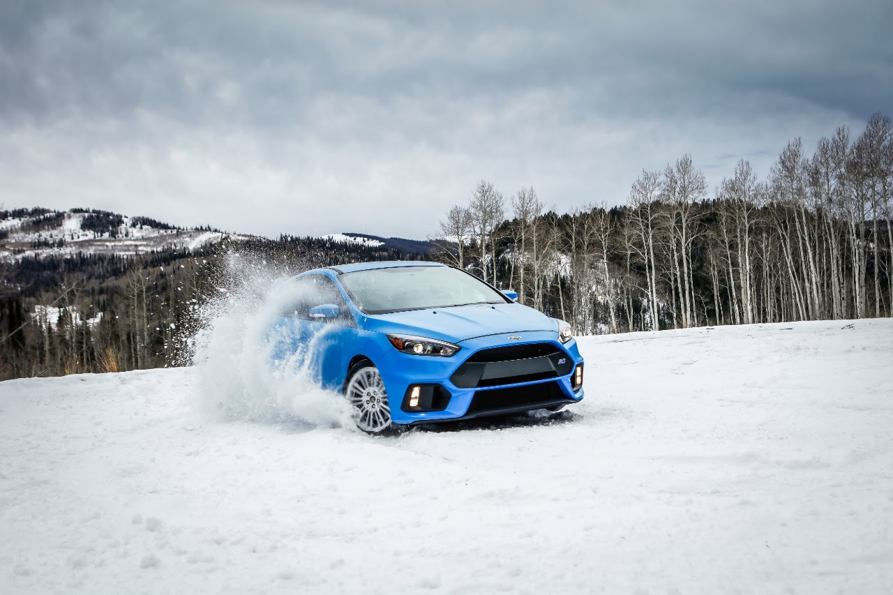 Ford Focus RS Gets Winter Tire Package, Says Bring On The Snow