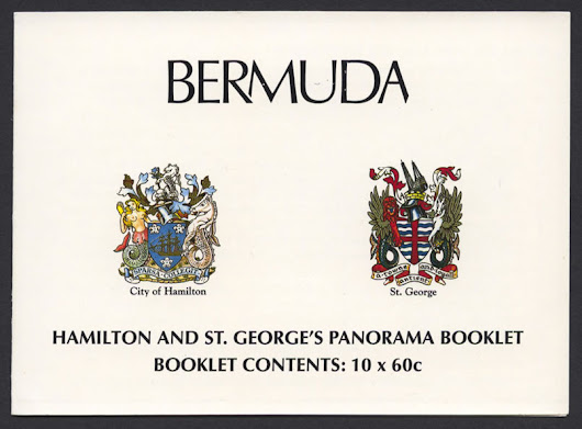 1996 Hamilton and St George's Panorama Booklet - Bermuda Stamps