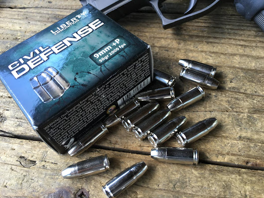 Ammo Test: Liberty Ammunition Civil Defense 9mm and 45 ACP - My Gun Culture