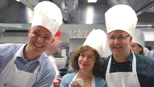 Recipe for success: The growth of team-building cookery classes - BBC News