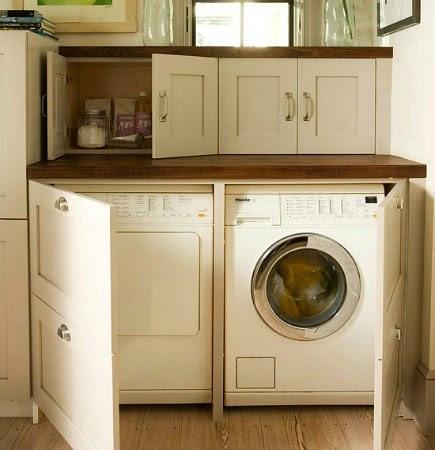 Hidden Laundry Spaces | Atticmag | Kitchens, Bathrooms, Interior