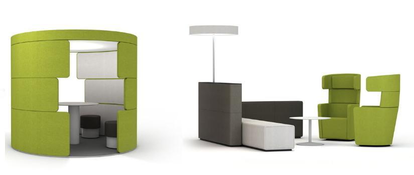 Parcs Futuristic Office Furniture | International Design Awards