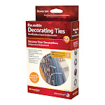 Simple Living 9763467 PVC Decorating Ties Light - 20 Count