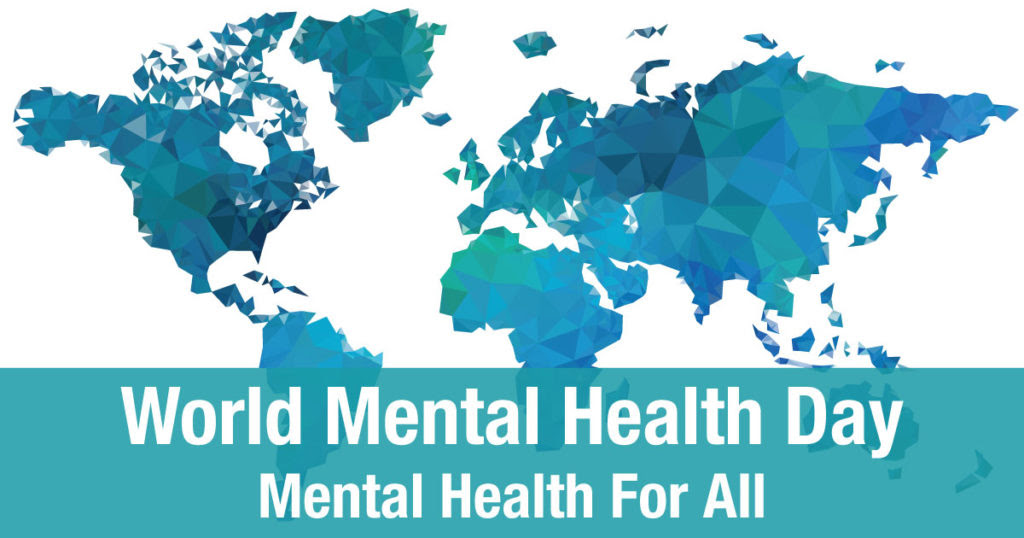 World Mental Health Day recognizes the mental health of ...
