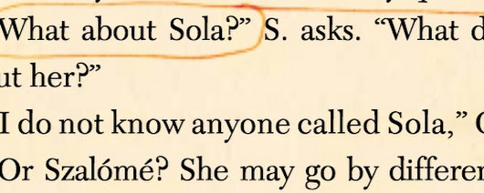 Is Sola Deliberately Hiding Her Identity?