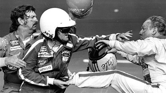 Yarborough, Allison Crash Hands Petty 500 Victory - February 18, 1979