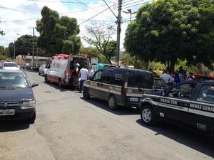 Crime foi na Praça Rotary, no Bairro Melo (Foto: Valdivan Veloso/G1)