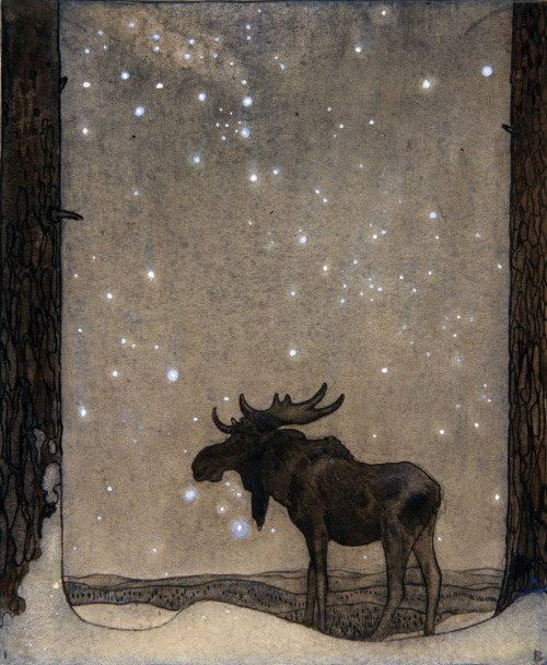 mermish:  John Bauer.