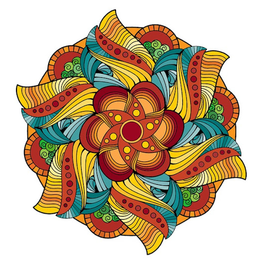 Magic Mandalas: Detailed Coloring Book for Adults
