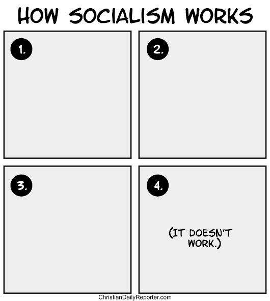 CDR Comic: How Socialism Works
