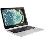 ASUS Flip C302CA DH54 12.5″ Convertible Chromebook - Core m5 M5-6Y54 1.1 GHz - 4 GB RAM - 64 GB SSD - Silver