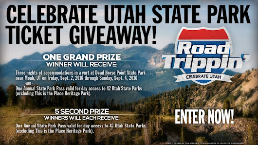 Utah State Park Pass Sweepstakes