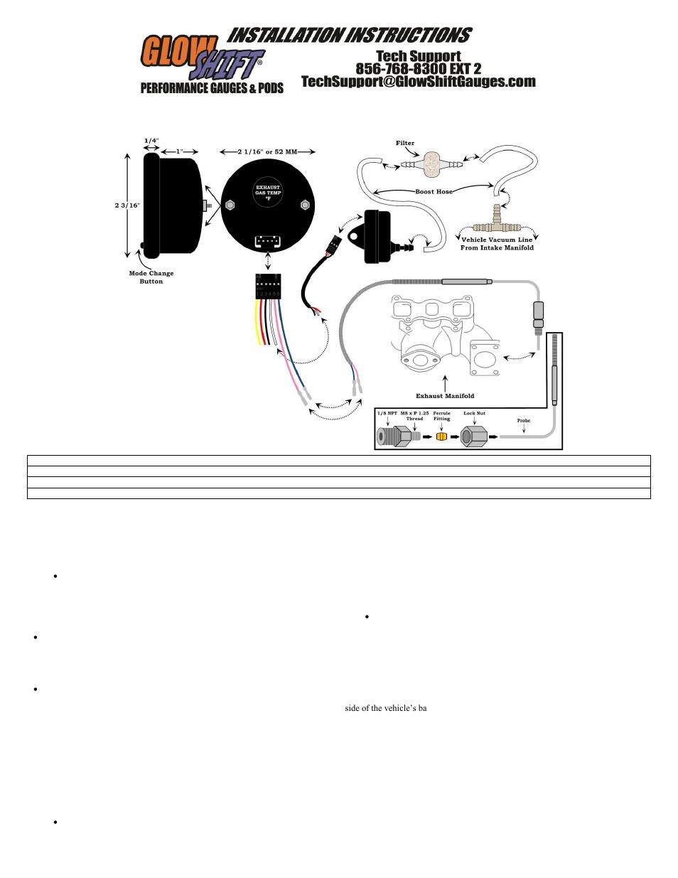Wrx Glowshift Wiring Diagram