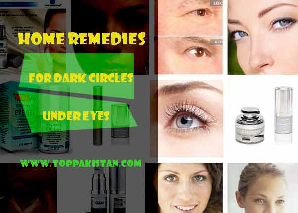 Home Remedies for Dark Circles Under Eyes | Dark Circles ...