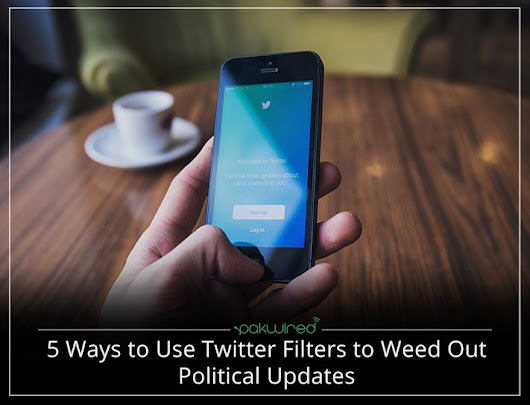 Twitter Filters for Political Updates