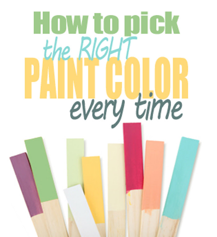 Paint Color Cheat Sheets 2015
