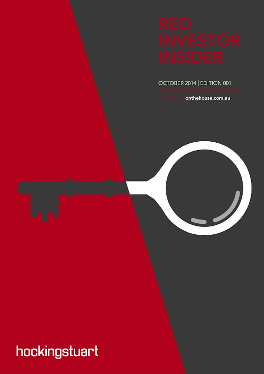 red Investor Insider - Issue 1, Oct 2014