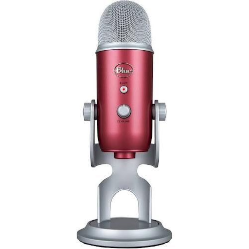 Blue Microphones Yeti USB Microphone - Steel Red 1066
