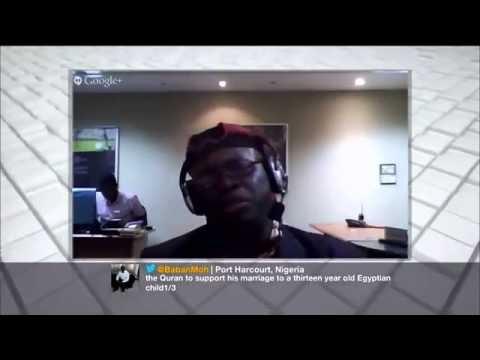 Stella Damasus & Sen. Yerima tackle child marriage on Al-Jazeera