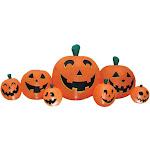 Morris Costumes VA1014 8.5 ft. Halloween Pumpkin Patch