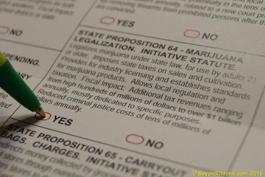 Why You Must Vote Yes on California Prop 64 – Beyond Chronic