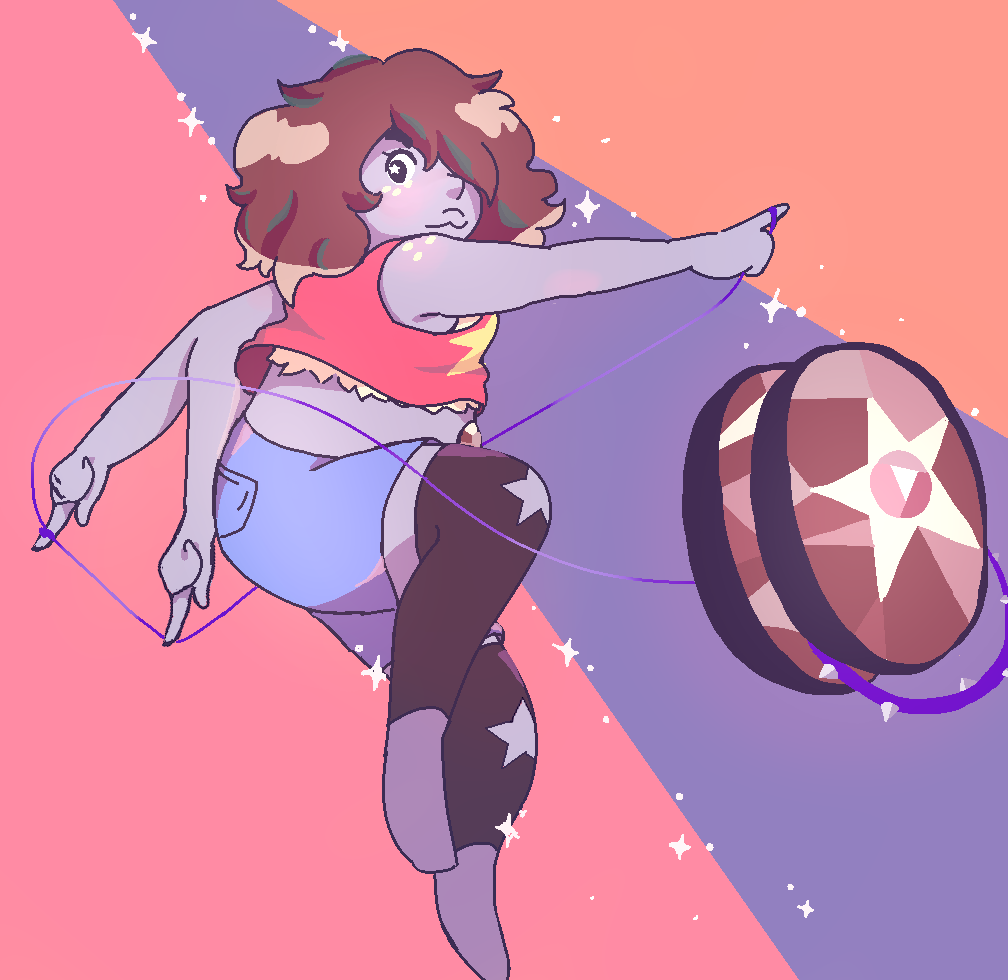 Loved the latests episode of Steven Universe! Smoky Quartz is awesome~