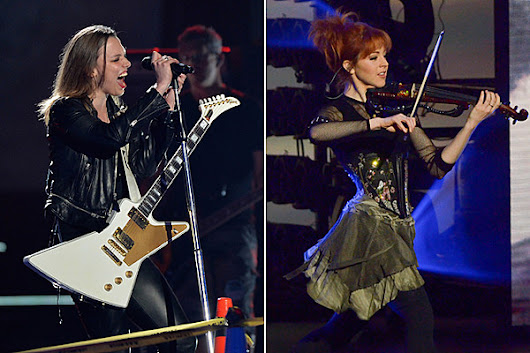 Battle Royale: Lzzy Hale, Lindsey Stirling Near Hall of Fame