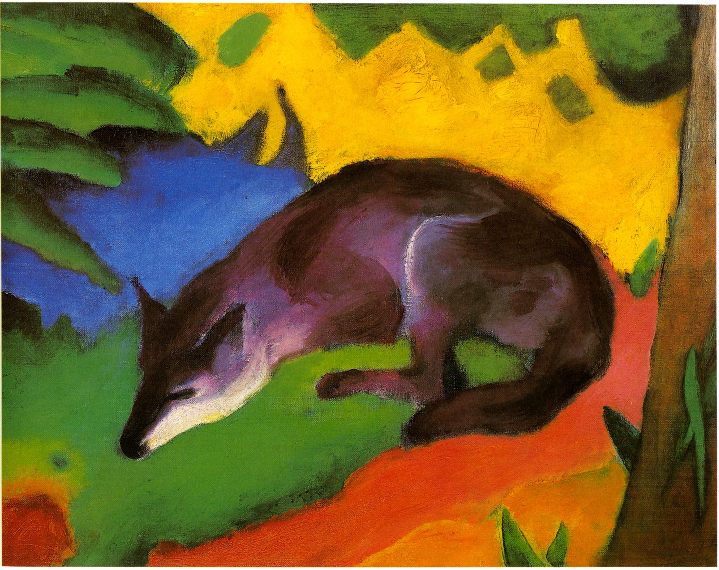 Marc-blue-black fox