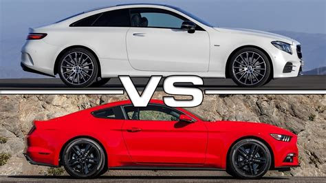 mercedes  class coupe  ford mustang ecoboost youtube