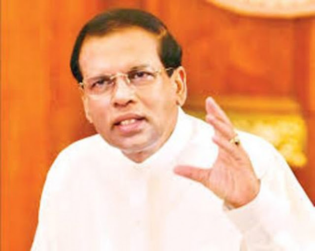 President Sirisena instructs to deploy tri-forces for relief