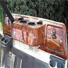 Club Car DS Golf Cart Custom Dash Assembly Wood Grain