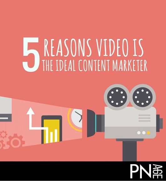 5 Reasons Video Is The Ideal Content Marketer