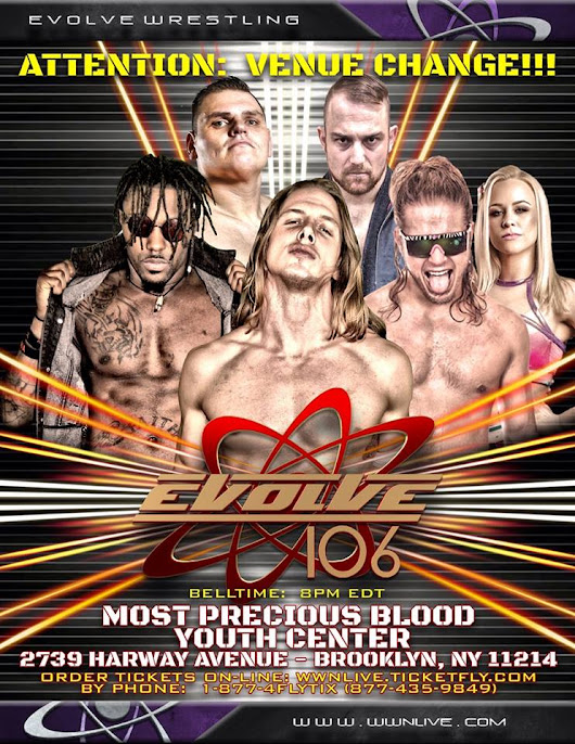 EVOLVE106 Review - PWPonderings