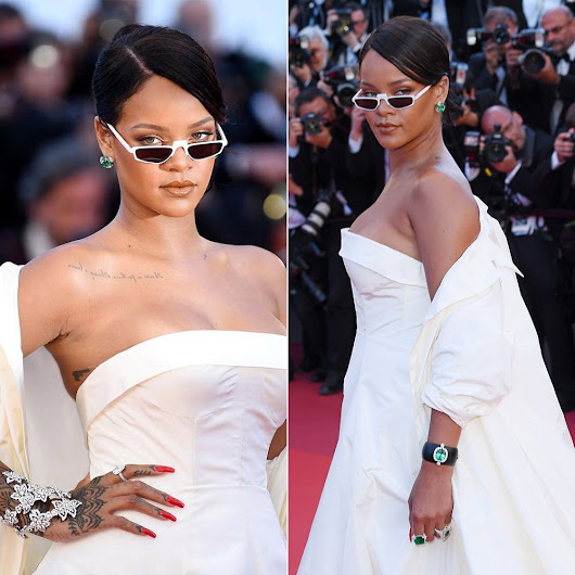 "Rihanna in Dior at Cannes ""Okja"" Premiere - Haus of Rihanna"