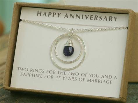 45th Anniversary Gift, 45th Wedding Anniversary Gift