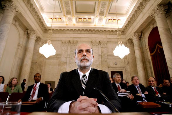 Fed, Federal Reserve Chairman Ben Bernanke