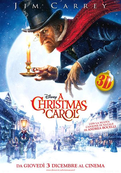 Locandina italiana A Christmas Carol