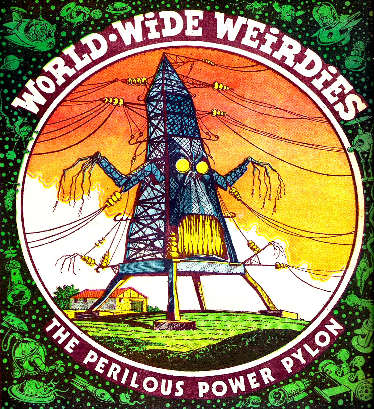 Ken Reid - World Wide Weirdies 18