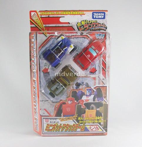 Transformers Minibot Attack Team Classics Henkei Legends - caja