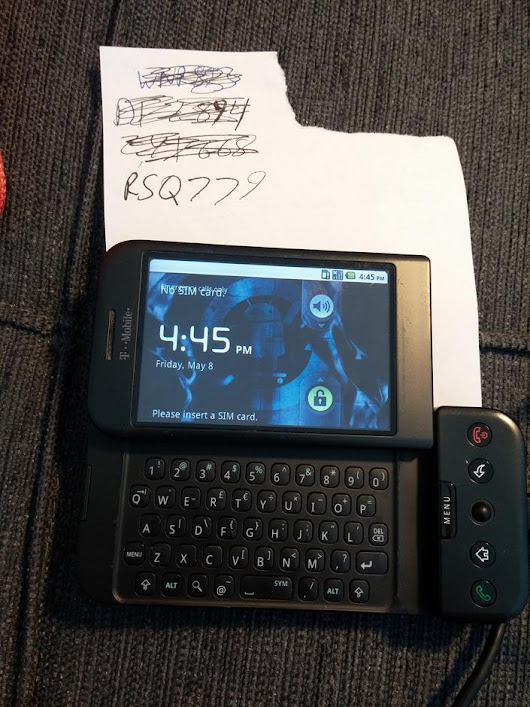 G1 (T-Mobile) For Sale - $50 on Swappa (RSQ779)