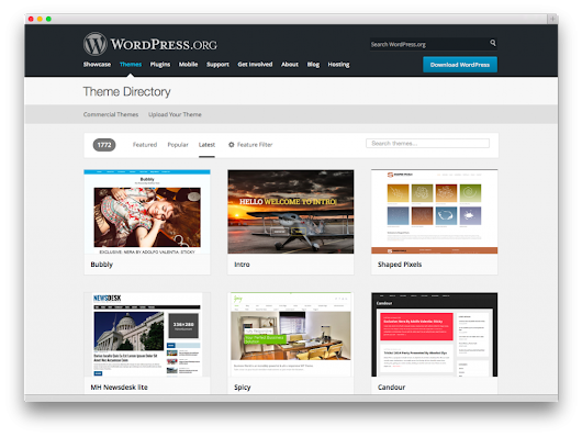 Improvements to WordPress.org