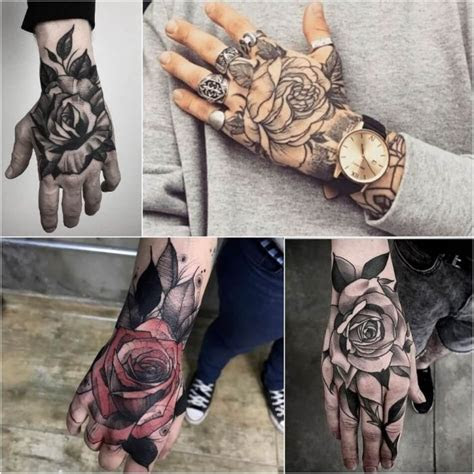 hand tattoo ideas men inked guys positivefoxcom