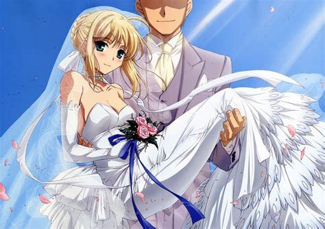 Saber get married?!! with who?   Fate Stay Night Photo
